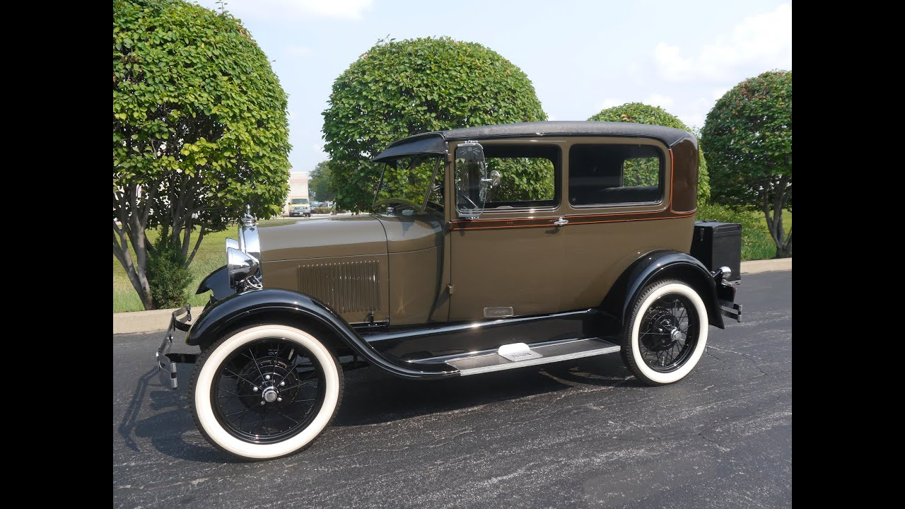 1929 Ford Model A Tudor Sedan ***SOLD! SOLD! SOLD!*** - YouTube