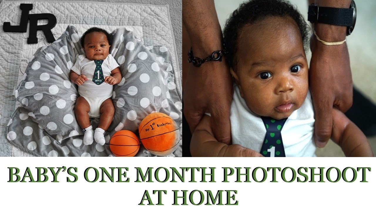 Baby boys photoshoot at home unedited one month postpartum