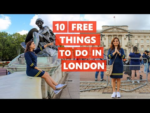 Top 10 FREE things to do in London | Vlog | London Travel Guide