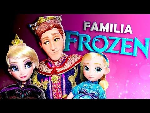 ❄️ ¡La FAMILIA FROZEN! ► 🌜 Novelas de juguetes y muñecas