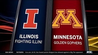 Illinois at Minnesota - Football Highlights