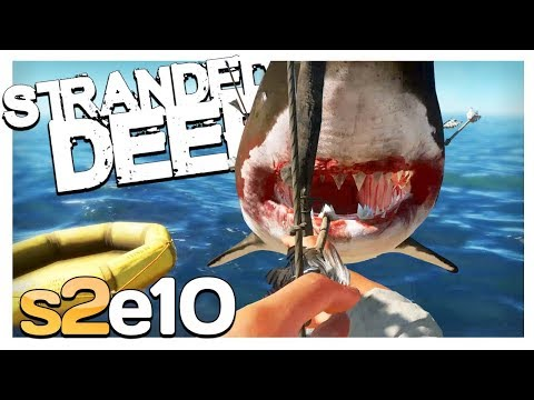 NEW MEGALODON MISSION | Stranded Deep Gameplay S2E10 (Experimental 0.34)