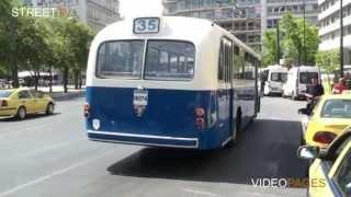 Street TV - Παλιό λεωφορείο στη σύγχρονη Αθήνα