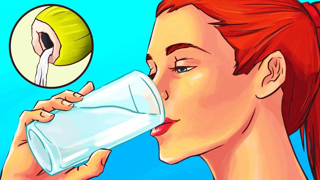 Bebe 1 vaso de agua de coco diariamente durante 2 semanas, y descubre lo que sucederá