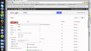 Google Docs Tutorial Espanol