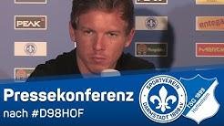 Darmstadt 98 | Ausschnitte aus der Pressekonferenz nach dem Hoffenheim-Spiel