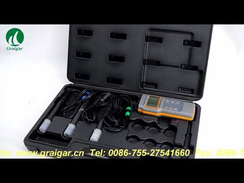 AZ8603 Water Quality meter Dissolved oxygen tester PH meter