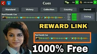 Get Free Pool Fantastic Cue For New Reward Link 8 Ball Pool 100% Free Reward Link