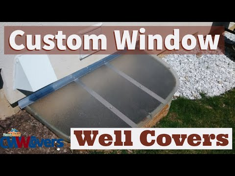 "3- 50""x38"" Window Well Covers"