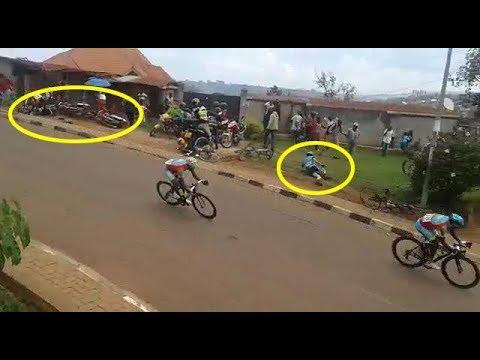 Video y' Umuzungu warupfuye muri Tour du Rwanda