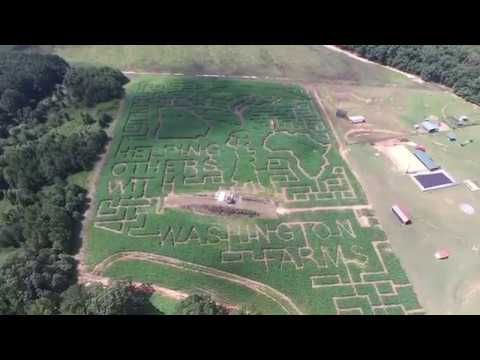 Washington Farms Corn Maze Honors Daughter's Mission Work
