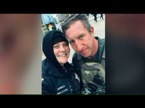 David Fisch - Police Officer Runs 15K Road Race, Stops To Do CPR, Then Gets Engaged!