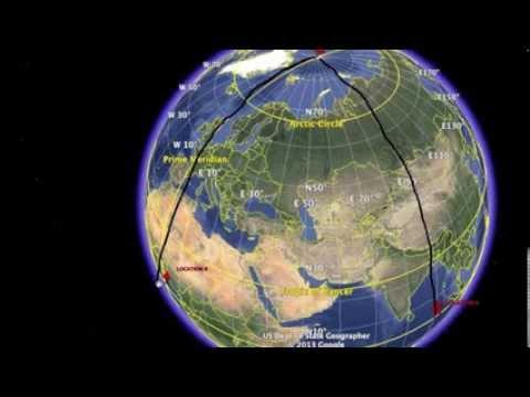 spherical trigonometry youtube