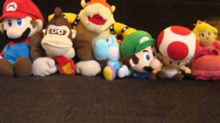 Mario Plush - We Will Rock You