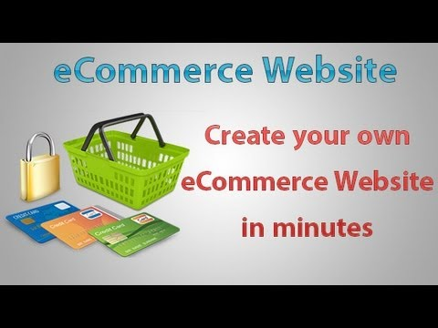 building an ecommerce web site - 2
