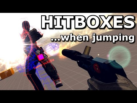 CS GO Hitboxes while jumping
