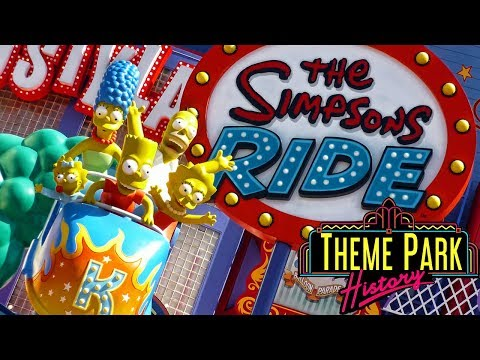 The Theme Park History of The Simpsons Ride (Universal Studios Florida/Universal Studios Hollywood)