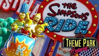 The Theme Park History of The Simpsons Ride (Universal Studios Florida/Universal Studios Hollywood) thumbnail