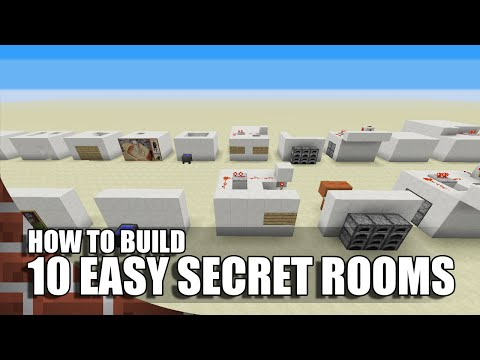 10 Easy  Ways To Build Secret Rooms In Minecraft
