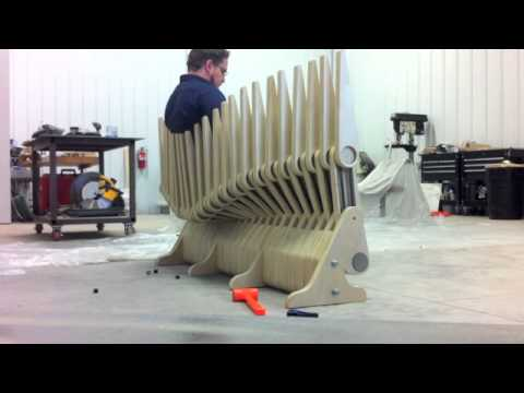 articulated seating | patent pending