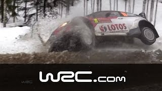 Crash Review Rally Sweden 2014!