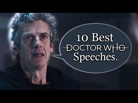 Top 10 Doctor Who Speeches