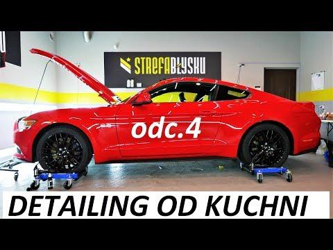 DETAILING OD KUCHNI - odc.4 Detailing wnętrza & impregnacja tapicerki - Ford Mustang GT V8 VLOG