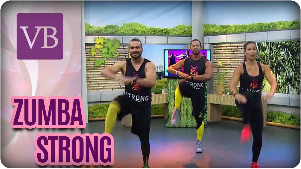 Aula De Zumba Strong Voce Bonita 01 09 16 Youtube