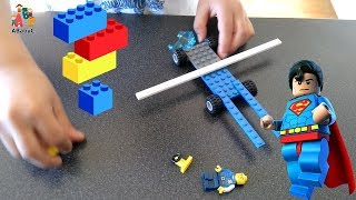 Kid built a Lego long truck in 1 minute - Lego City Police