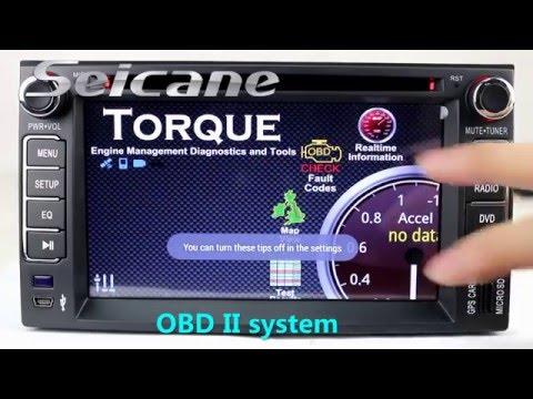 HD 2006 2007 2008 2009 Kia Sorento Gps Navigation Bluetooth Dvd Audio System With OBD2 DVR