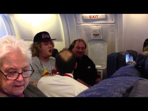 American Airlines Drunk Passenger