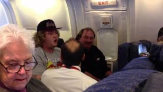 American Airlines Drunk Passenger