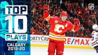 Top 10 Flames Plays of 2019-20 ... Thus Far | NHL