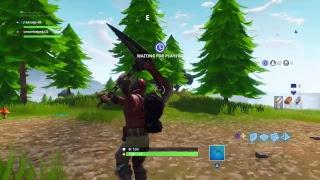 FORTNITE Battle Royale New Gun!!! Gameplay