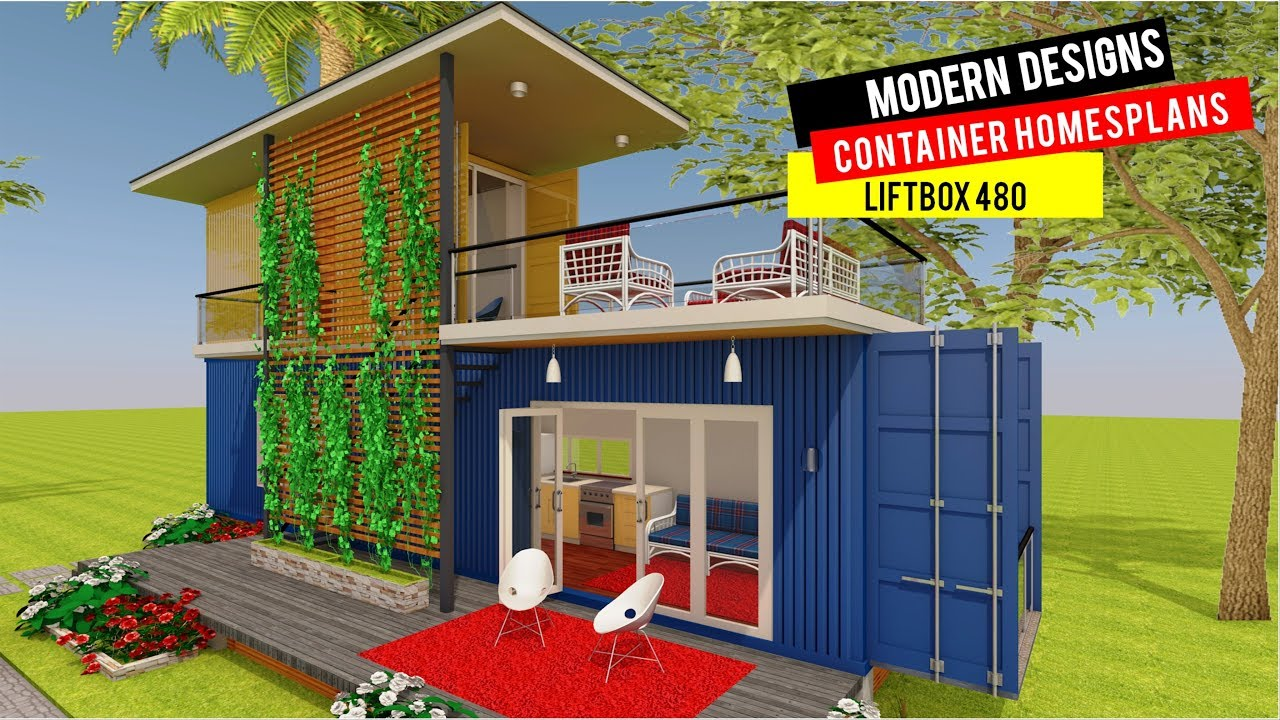 MODERN SHIPPING CONTAINER HOUSE PLANS | LIFTBOX 480 BY ...
