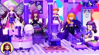 Too Much Purple, do you think? Building using only purple Lego bricks