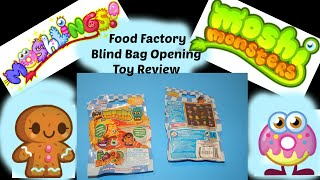 Moshi Monsters Food Factory Blind Bags Opening Toy Figures