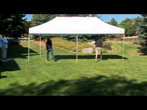Elite Deals - Undercover 10x20 Canopy Quick Setup & Elite Deals - Undercover 10x20 Canopy Quick Setup - YouTube