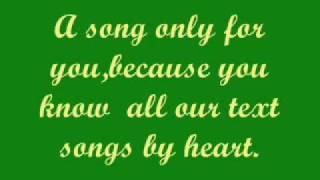 Die Ärzte-Ein Lied für dich(English translation)