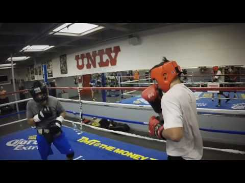 Sparring At UNLV BOXING CLUB