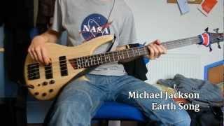 Michael Jackson - Earth Song [Bass Cover]