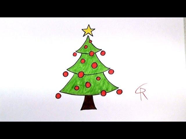 Learn How To Draw A Festive Cartoon Christmas Tree Icanhazdraw Youtube All original artworks are the property of freevector.com. cartoon christmas tree icanhazdraw