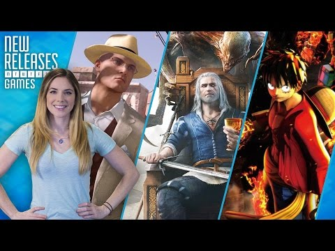 Hitman: Marrakesh, The Witcher 3: Blood and Wine, One Piece: Burning Blood - New Releases