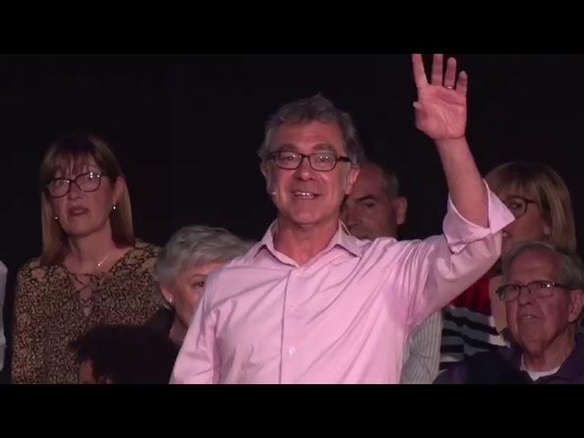 Acte de presentació de l'Antoni Poveda