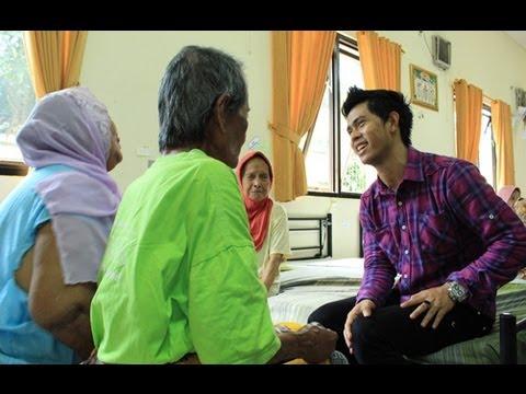 Cakra Khan Menjenguk Para Lansia - Intens 6 Juni  2013