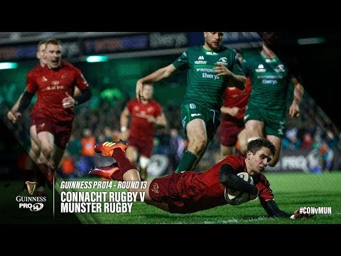 Guinness PRO14 Round 13 Highlights: Connacht Rugby v Munster Rugby