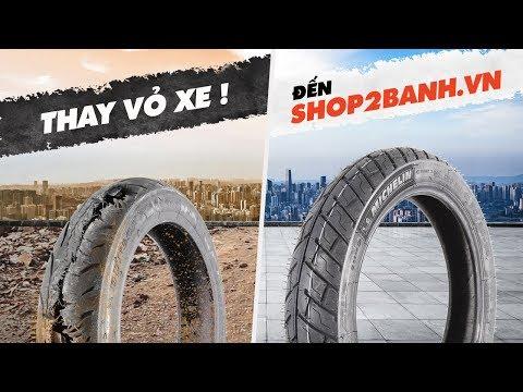 Thay Vỏ Xe - Đến Shop2banh.vn (Vỏ Xe Chính Hãng - Nhiệt Tình Uy Tín)