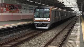 東京メトロ10000系10103F&西武6000系6110F秋津駅通過