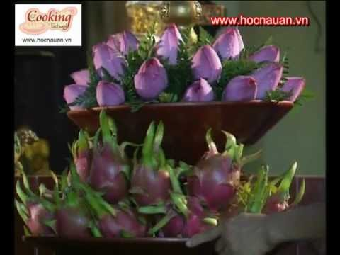 [Nghệ thuật cắm hoa] Cách cắm hoa sen
