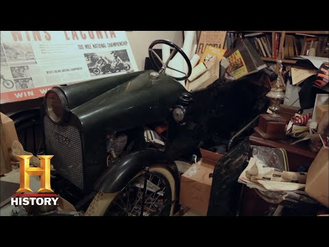 American Pickers: Mega Bucks For Ultra Rare Cycle Car (Season 11) | History